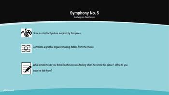 Music Writing Prompts - Symphony No. 5