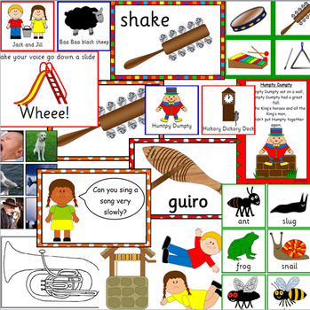 Music activities and bulletin board for the Early Years