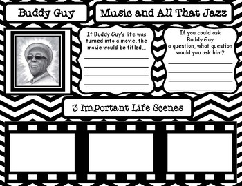 Music and All That Jazz Louis Armstrong and Buddy Guy Pair and Share Posters