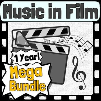 Music in Film Curriculum ~ BUNDLE ~