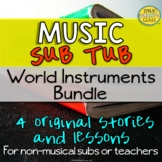 Music Sub Plans For Non Music Subs (Instruments Around The