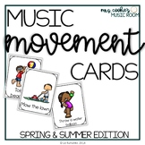 Music and Movement Cards: Spring and Summer Edition