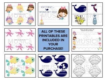 Music and Movement Class Curriculum, Preschool Music