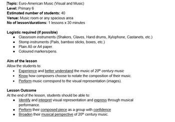 Music and Visuals