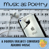 Music as Poetry - An engaging poetry activity