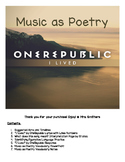 """Music as Poetry: """"I Lived"""" by OneRepublic (Figurative lang"""