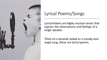 Music as Poetry Teaching Power Point