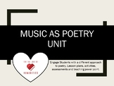 Music as Poetry Unit