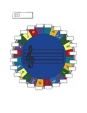 Music circle rug seating chart