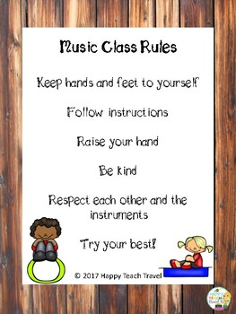 Music rules and note tracing