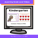 Music eLearning: Kindergarten Grade Concept Videos and PDFs