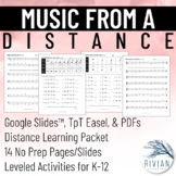 Music from a Distance - A Distance Learning Packet (Digita