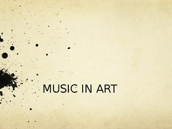 Music in Art PPT