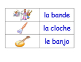 Music in French Flash Cards