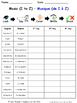 Music in French Spelling Worksheets