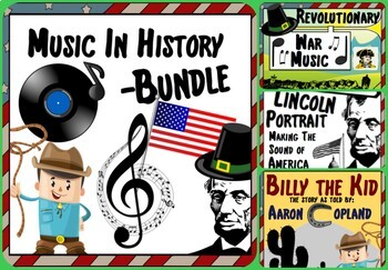 Music in History Curriculum  ~ BUNDLE ~ *Beginning Semester of the Year*
