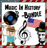 Music in History Curriculum  ~ BUNDLE ~