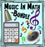 Music in Math Curriculum ~ BUNDLE ~