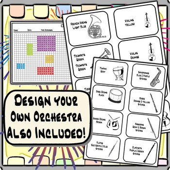 Music in Math - Design Your Own Music Festival & Orchestra
