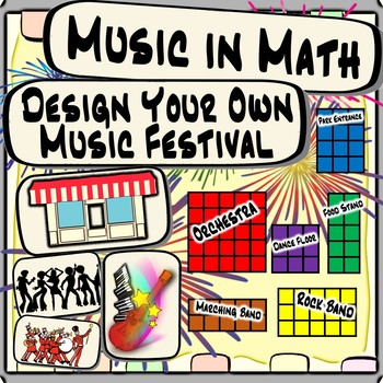 Music in Math - Design Your Own Music Festival & Orchestra Distance Learning