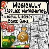Music in Math - Financial Literacy Board Game - Run a Music Business