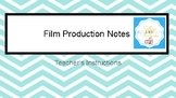 Music in Movies: Film Production GUIDED NOTES AND POWERPOINT