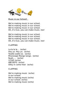 Music in Our School! (From Music K-8, Vol. 16, No. 4)