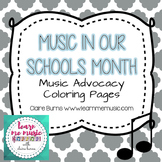 Music in Our Schools Month (MIOSM) Advocacy Coloring Pages