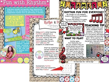 Music in Our Schools Month: Rhythm eBook