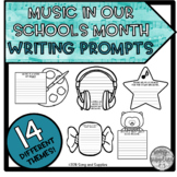 Music in Our Schools Month - Themed Writing Prompts