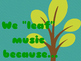 """Music in Our Schools Month - We """"LEAF"""" Music!"""