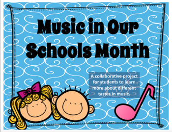 Music in Our Schools Month poster