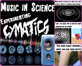 Music in Science Curriculum  ~ BUNDLE ~ *Beginning Semester of the Year*