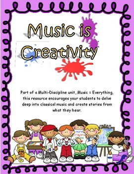 Music is Creativity Story Telling Activity