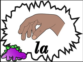 Music is DINO-mite -  Curwen/Kodaly Handsign Posters