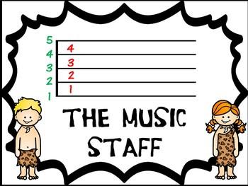 Music classroom resource decor: DINO-mite Music Symbols