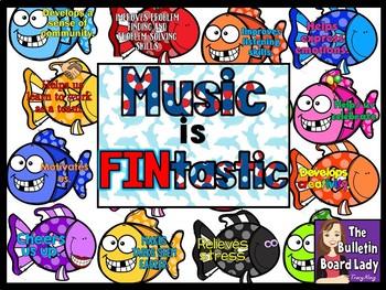 Music is FINtastic Bulletin Board