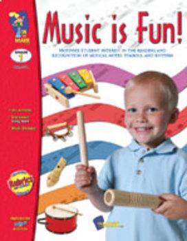 Music is Fun! Grade 1 (Enhanced eBook)