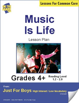 Music is Life (Non-Fiction - Report) Reading Level 2.3
