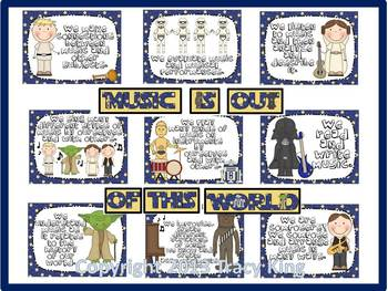 Music is Out of This World Bulletin Board Kit