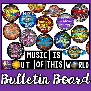 Music is Out of this World Advocacy Bulletin Board