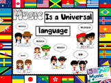 Music is a Universal Language Bulletin Board