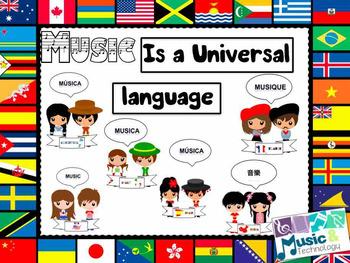Music is a Universal Language Bulletin Board
