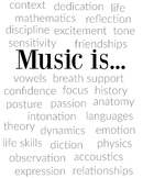 Music is... everything | Poster or Printable