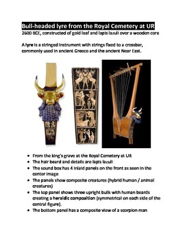 Music of Mesopotamia and the Bull-headed Lyre