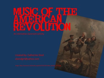 Music of the American Revolution- Interactive (mp3)