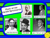 Music of the HARLEM RENAISSANCE: Musicians in the Spotlight