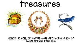 Music of the Stone Age *Treasures Reading Series* Vocab Cards (Unit 3, Lesson 3)