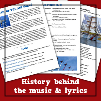 Music of the U.S. Military Lesson Plan