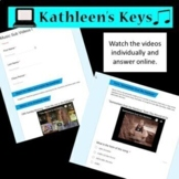No Prep - Music or Choir Sub Plan I - High School or Middle School -Self Grading